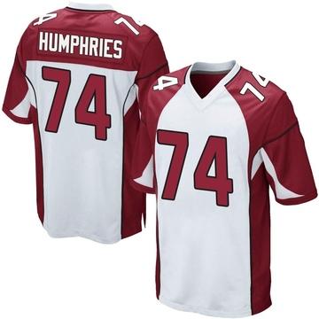 Youth Nike Arizona Cardinals D.J. Humphries White Jersey - Game
