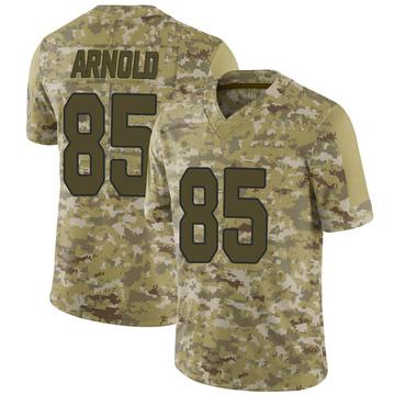Youth Nike Arizona Cardinals Dan Arnold Camo 2018 Salute to Service Jersey - Limited