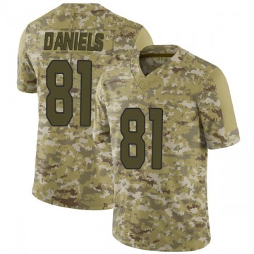 Youth Nike Arizona Cardinals Darrell Daniels Camo 2018 Salute to Service Jersey - Limited