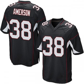 Youth Nike Arizona Cardinals David Amerson Black Alternate Jersey - Game