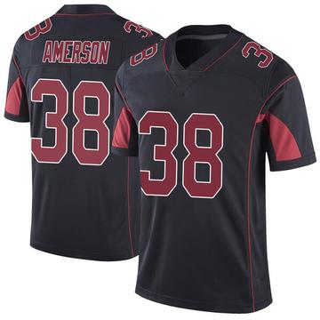 Youth Nike Arizona Cardinals David Amerson Black Color Rush Vapor Untouchable Jersey - Limited