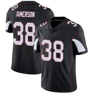 Youth Nike Arizona Cardinals David Amerson Black Vapor Untouchable Jersey - Limited
