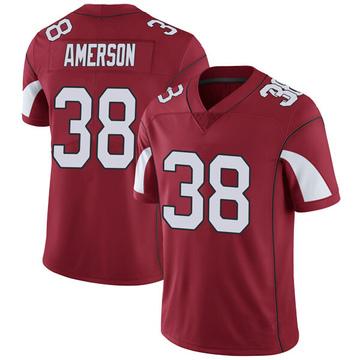 Youth Nike Arizona Cardinals David Amerson Cardinal Team Color Vapor Untouchable Jersey - Limited