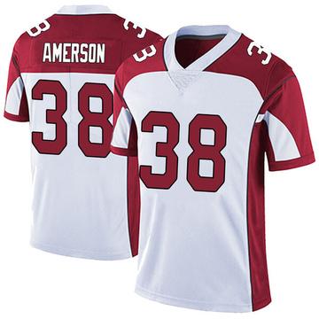 Youth Nike Arizona Cardinals David Amerson White Vapor Untouchable Jersey - Limited