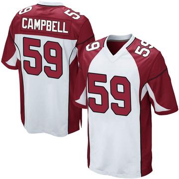 Youth Nike Arizona Cardinals De'Vondre Campbell White Jersey - Game