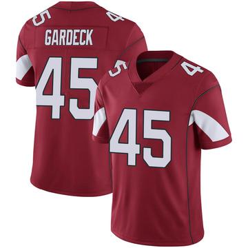 Youth Nike Arizona Cardinals Dennis Gardeck Cardinal 100th Vapor Jersey - Limited