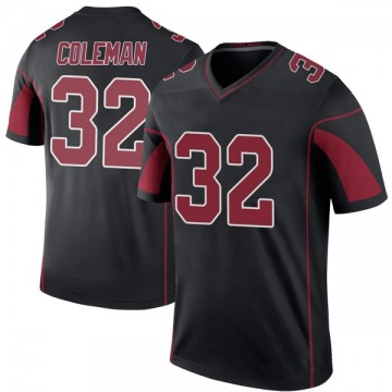 Youth Nike Arizona Cardinals Derrick Coleman Black Color Rush Jersey - Legend