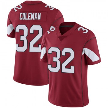 Youth Nike Arizona Cardinals Derrick Coleman Cardinal 100th Vapor Jersey - Limited