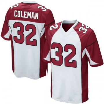 Youth Nike Arizona Cardinals Derrick Coleman White Jersey - Game