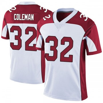 Youth Nike Arizona Cardinals Derrick Coleman White Vapor Untouchable Jersey - Limited