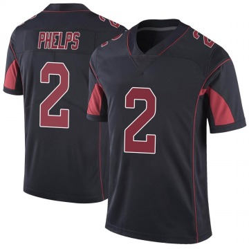 Youth Nike Arizona Cardinals Devin Phelps Black Color Rush Vapor Untouchable Jersey - Limited
