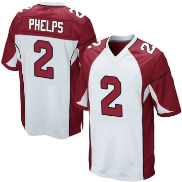 Youth Nike Arizona Cardinals Devin Phelps White Jersey - Game