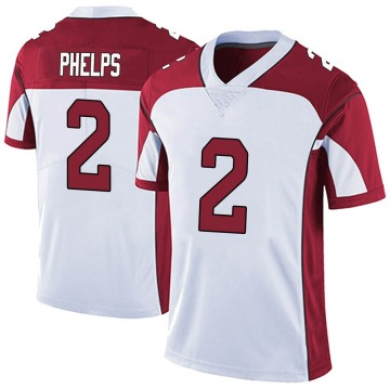 Youth Nike Arizona Cardinals Devin Phelps White Vapor Untouchable Jersey - Limited