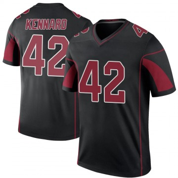 Youth Nike Arizona Cardinals Devon Kennard Black Color Rush Jersey - Legend