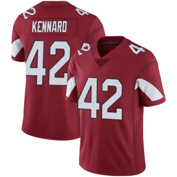 Youth Nike Arizona Cardinals Devon Kennard Cardinal 100th Vapor Jersey - Limited