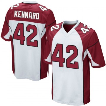 Youth Nike Arizona Cardinals Devon Kennard White Jersey - Game
