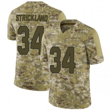 Youth Nike Arizona Cardinals Dontae Strickland Camo 2018 Salute to Service Jersey - Limited