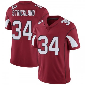 Youth Nike Arizona Cardinals Dontae Strickland Cardinal Team Color Vapor Untouchable Jersey - Limited