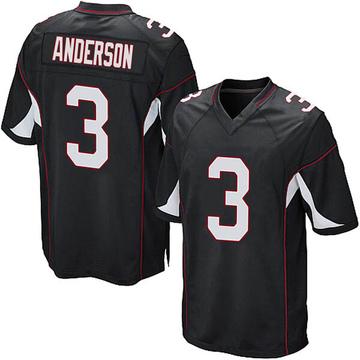 Youth Nike Arizona Cardinals Drew Anderson Black Alternate Jersey - Game