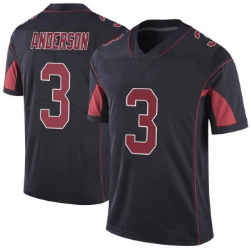 Youth Nike Arizona Cardinals Drew Anderson Black Color Rush Vapor Untouchable Jersey - Limited
