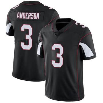 Youth Nike Arizona Cardinals Drew Anderson Black Vapor Untouchable Jersey - Limited