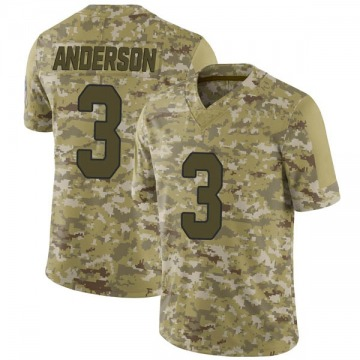 Youth Nike Arizona Cardinals Drew Anderson Camo 2018 Salute to Service Jersey - Limited