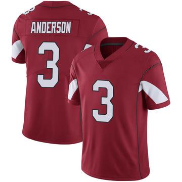 Youth Nike Arizona Cardinals Drew Anderson Cardinal 100th Vapor Jersey - Limited