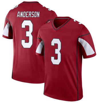 Youth Nike Arizona Cardinals Drew Anderson Cardinal Jersey - Legend