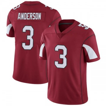 Youth Nike Arizona Cardinals Drew Anderson Cardinal Team Color Vapor Untouchable Jersey - Limited