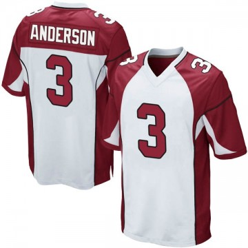 Youth Nike Arizona Cardinals Drew Anderson White Jersey - Game