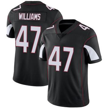 Youth Nike Arizona Cardinals Drew Williams Black Vapor Untouchable Jersey - Limited