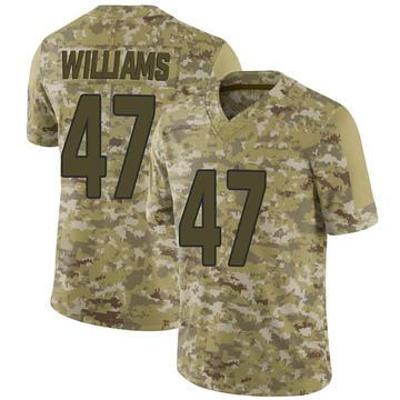 Youth Nike Arizona Cardinals Drew Williams Camo 2018 Salute to Service Jersey - Limited