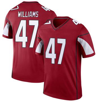 Youth Nike Arizona Cardinals Drew Williams Cardinal Jersey - Legend