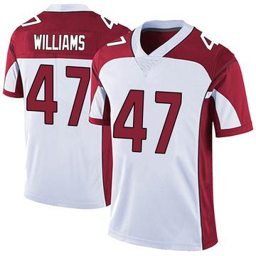 Youth Nike Arizona Cardinals Drew Williams White Vapor Untouchable Jersey - Limited