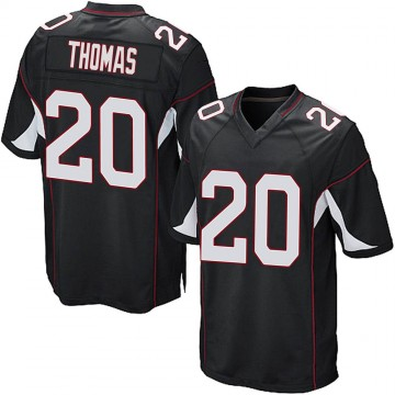 Youth Nike Arizona Cardinals Duke Thomas Black Alternate Jersey - Game