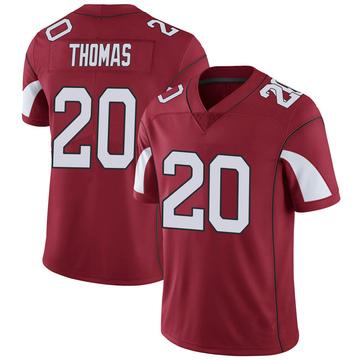 Youth Nike Arizona Cardinals Duke Thomas Cardinal Team Color Vapor Untouchable Jersey - Limited