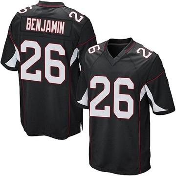 Youth Nike Arizona Cardinals Eno Benjamin Black Alternate Jersey - Game