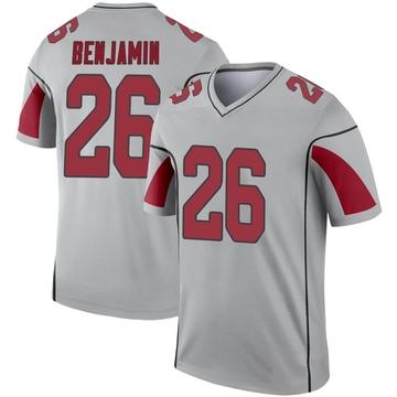 Youth Nike Arizona Cardinals Eno Benjamin Inverted Silver Jersey - Legend