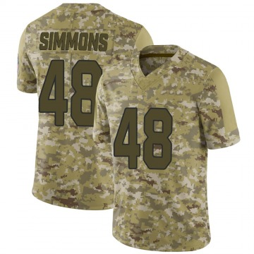 Youth Nike Arizona Cardinals Isaiah Simmons Camo 2018 Salute to Service Jersey - Limited