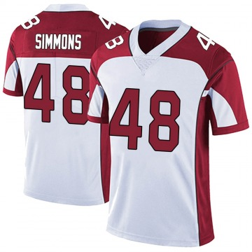 Youth Nike Arizona Cardinals Isaiah Simmons White Vapor Untouchable Jersey - Limited