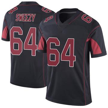 Youth Nike Arizona Cardinals J.R. Sweezy Black Color Rush Vapor Untouchable Jersey - Limited