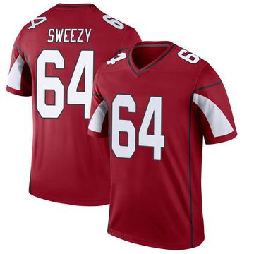 Youth Nike Arizona Cardinals J.R. Sweezy Cardinal Jersey - Legend