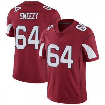 Youth Nike Arizona Cardinals J.R. Sweezy Cardinal Team Color Vapor Untouchable Jersey - Limited