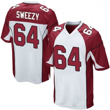 Youth Nike Arizona Cardinals J.R. Sweezy White Jersey - Game