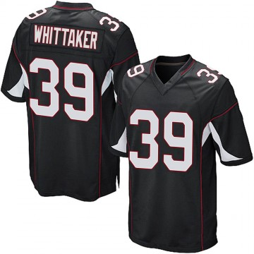 Youth Nike Arizona Cardinals Jace Whittaker Black Alternate Jersey - Game