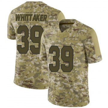 Youth Nike Arizona Cardinals Jace Whittaker Camo 2018 Salute to Service Jersey - Limited
