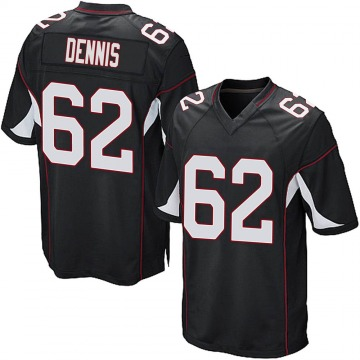Youth Nike Arizona Cardinals Jackson Dennis Black Alternate Jersey - Game
