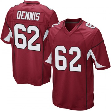 Youth Nike Arizona Cardinals Jackson Dennis Cardinal Team Color Jersey - Game
