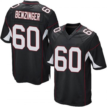 Youth Nike Arizona Cardinals Jake Benzinger Black Alternate Jersey - Game