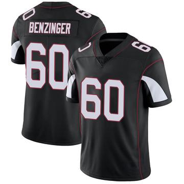 Youth Nike Arizona Cardinals Jake Benzinger Black Vapor Untouchable Jersey - Limited